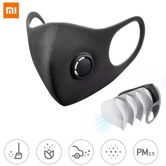 Xiaomi ZHIMI Filter Mask Block PM 2.5 Ventilating Valve Dustproof Anti-haze Comfortable Protective Mask Xiami Xiomi Face Masks 5