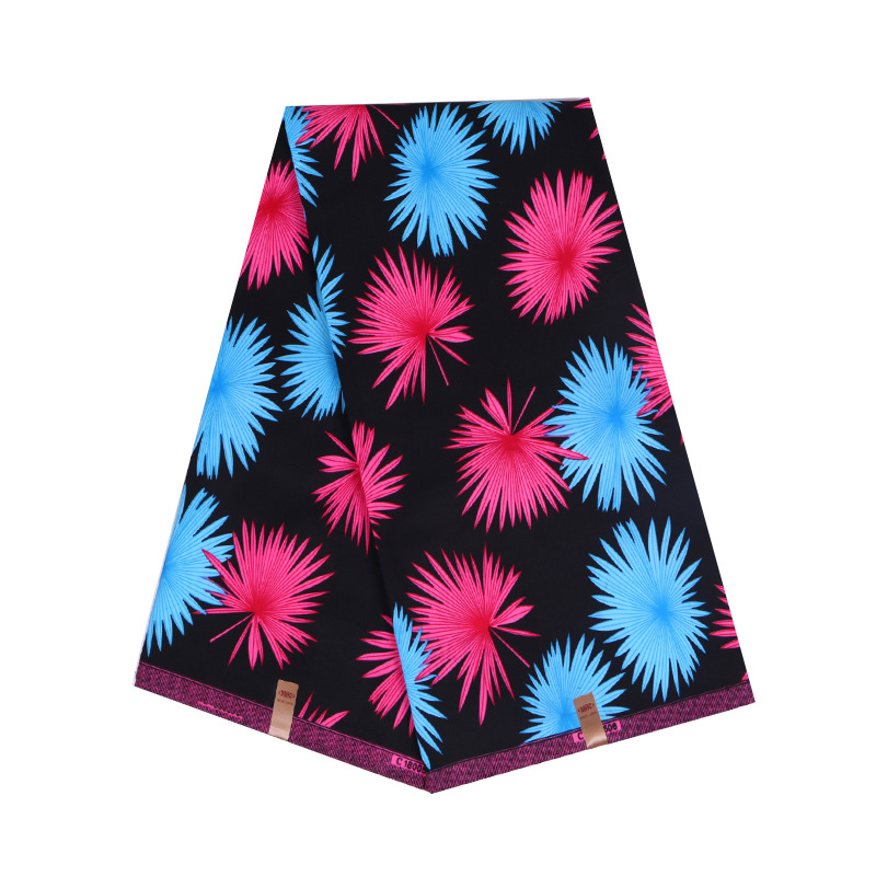 Veritable Wax Nederlands Fabric High Quality Ankara African Wax Print Fabric 6yards Real Wax Dress Fabric