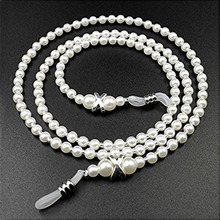Fashion Elegant Handmade Imitation Pearl Eyeglass Chains Women Reading Glasses Chain Sunglasses Stra