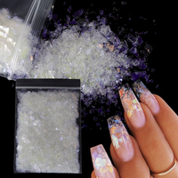 Holographic AB Nail Glitter Flake Sparkly Sequins Irregular Paillette DIY Gel Polish Manicure Nail Art Decorations Accessories