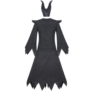 Image 5 - high quality Maleficent costume PU Movie Maleficent cosplay Costumes Adlut sexy halloween Costumes for Women Party fancy dress