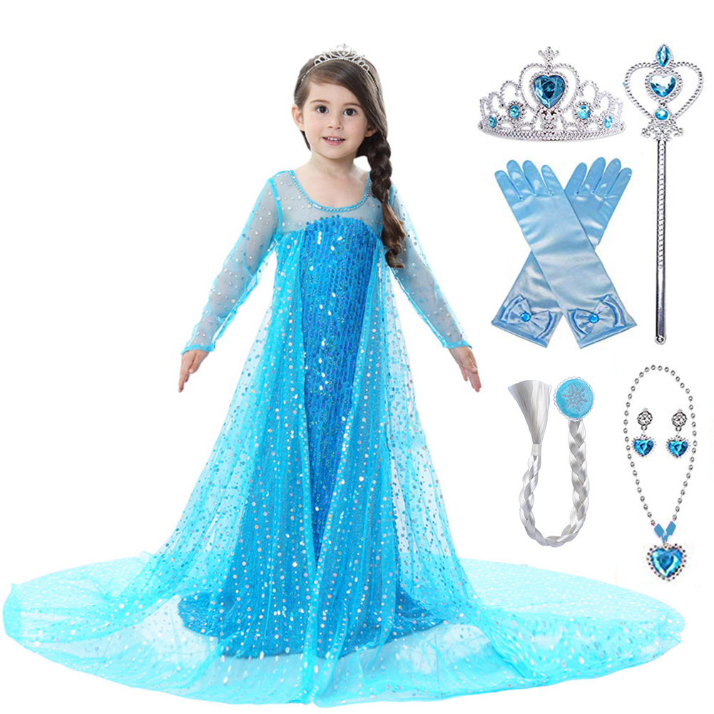 Official Disney Princess Belle Dress Girls Children/'s Toddler Age 3 4 5 6 7
