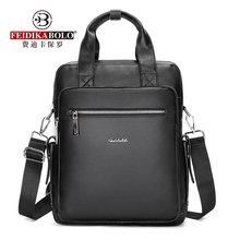 FEIDIKABOLO Real Leather Man Bag Man Business Shoulder Bags