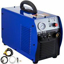 VEVOR 40AMP/70AMP Air Plasma Cutter Digital Inverter Welder Cutting Machine for Sheet Metal Fabrication Steel Copper 110V/220V