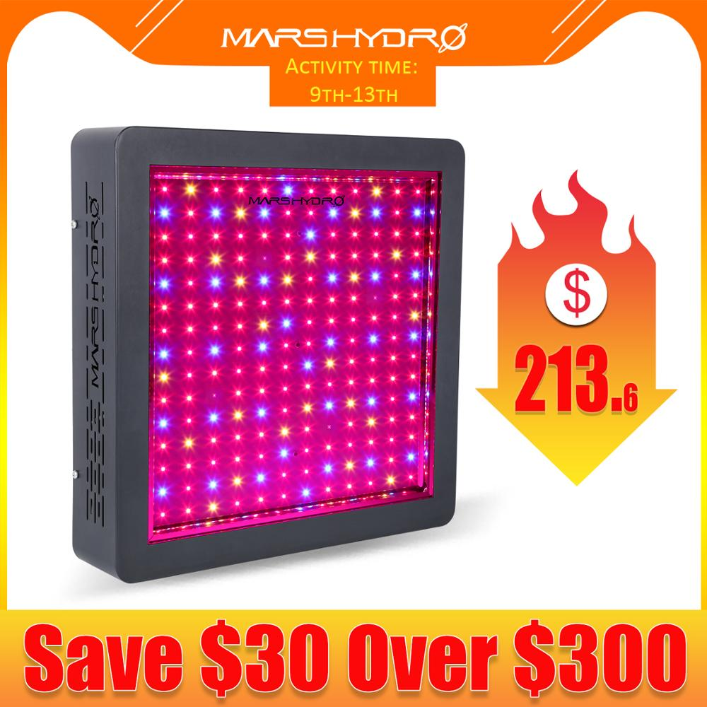 Mars Hydro LED Grow Light Upgraded Mars II 900W Full Spectrum Veg Bloom Switches with IR Professional Hydroponic System|mars hydro|mars hydro led|led grow - title=