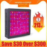 Mars Hydro LED Grow Light Upgraded Mars II 900W Full Spectrum Veg Bloom Switches with IR Professional Hydroponic System