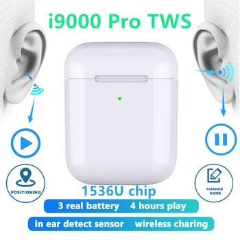 New i9000 Pro TWS Aire 2 Replica 1:1 Bluetooth earphone Wireless Headphones Rename Positioning Earbuds PK i12 i200 i500 TWS