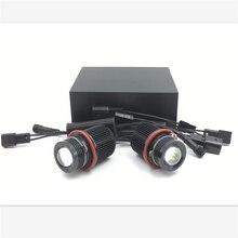 цена на Marker 90W Angel Eyes CREEs LED Chips Canbus LED Angel Eyes for BMW  led marker E53 E39 M5 X3 X5  E87 E60 E61 E63 E64 E65