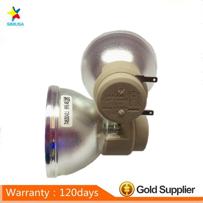 Original Bare Projector Lamp Bulb 5J.JEL05.001 P-VIP210 0.8 E20.9n For TH670
