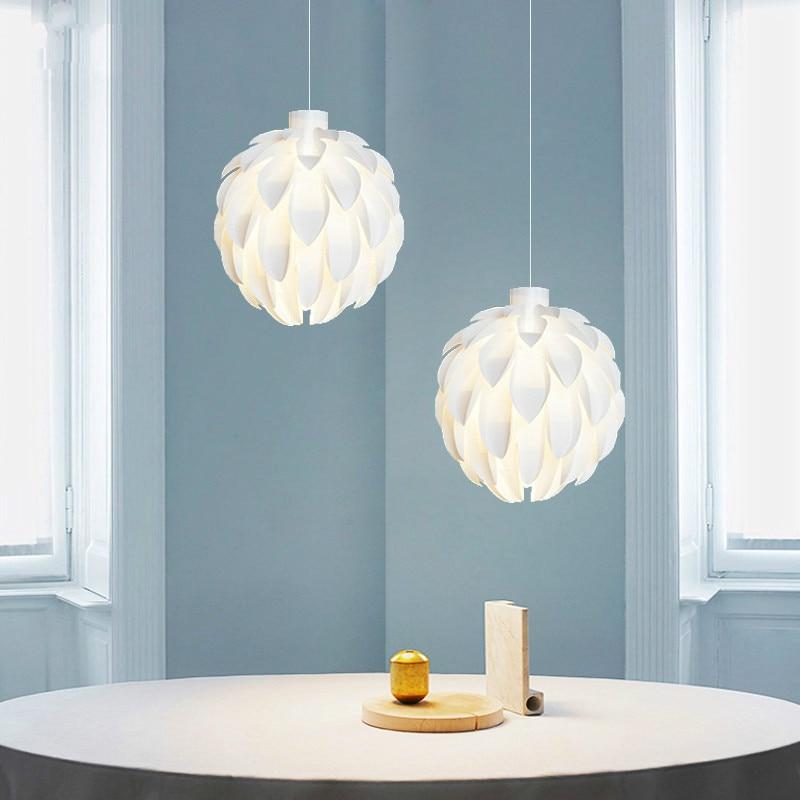 Modern Pine Cone Pendant Lights Nordic Petal Kitchen Hanging Lamp for Living Room Bedroom Restaurant Home Decor Light Fixtures
