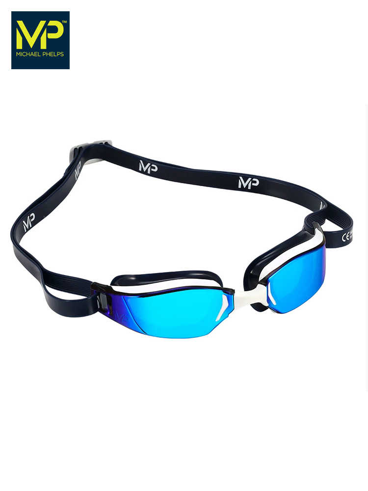 MP Phelps goggles men and women adult waterproof anti-fog HD professional racing training plating swimming goggles