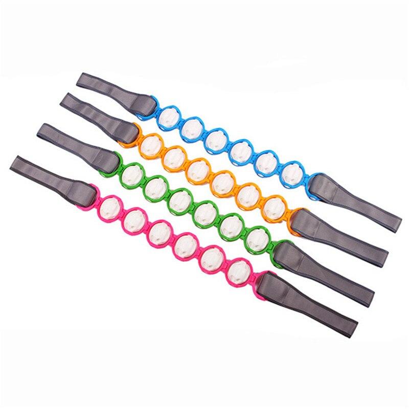 ombro dor massagem multicolorido rolo cintura costas