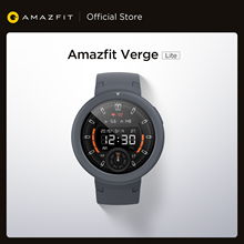 Amazfit-reloj inteligente Verge Lite, dispositivo con podómetro, seguimiento deportivo AMOLED, GLONASS, para teléfonos Android e iOS, versión Global, nuevo