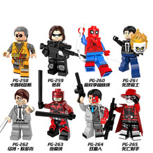 PG8069 Building Blocks Bricks  Super Hero DC Ghost Rider Kaecilius Winter Soldier Matt Murdock Toys for children