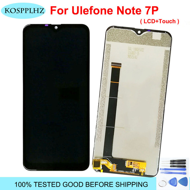 Original For Ulefone Note 7P LCD Display Touch Screen Digitizer Assembly note7P Plus Mobile Phone Accessories 2020 new