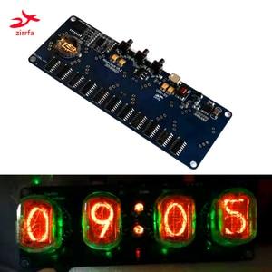 Zirrfa elektroniczny zestaw do majsterkowania in4 in8 in8-2 in12 in14 in16 in17 in18Nixie rury cyfrowy zegar led prezent płytka drukowana płytka obwodów drukowanych, bez rur