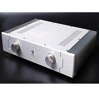 KYYSLB 430*90*308 MILÍMETROS DIY Alumínio Caso Amplificador Gabinete Habitação SD4309B Pequena Classe UM Resfriamento Externo chassis Do amplificador|Amplificador| |  -