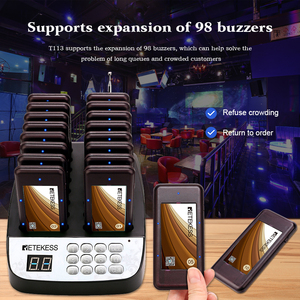 Image 2 - Retekess T113 Restaurant Pager With 16 Pager Receivers Max 998 Buzzers For Restaurant Church Coffee Shop Guest Paging System