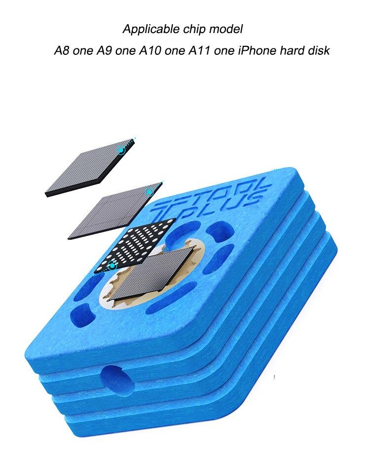 Hot Bat LP550 Heating Platform Glue Removal Station for Phone CPU NAND IC Repair