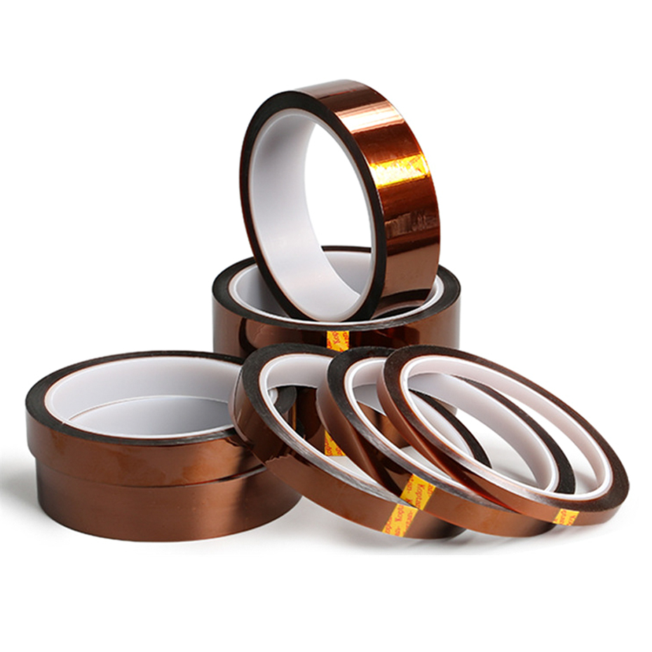 High Temperature Tape High Quality Polyimide Tape Heat BGA Adhesive Strong Insulation Tapes Use For Electronic Repair Heat Tapes