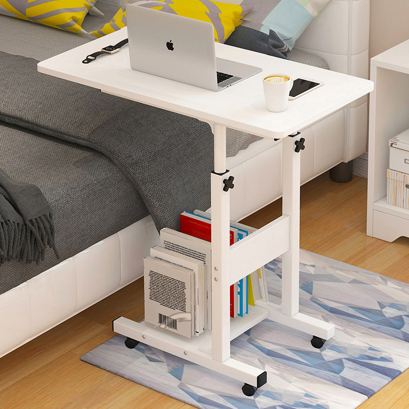 Laptop Desk Household  Bedside Lazy Person Small Table For Students' Dormitory Desk Narrow Computer Desk Modern Desk