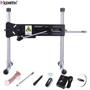 Image 1 - HISMITH máquina sexual KlicLok, Control remoto, supersilencioso, Ultra estabilidad, engranaje de acero sólido, potencia de 120W, producto sexual