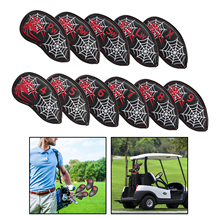 Iron-Headcover Golfer Number-Set Putters-Protector Hybrid All-Irons with Embroidery
