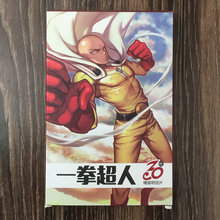 30pcs ONE PUNCH MAN Anime Cards Postcard Greeting Card Message Christmas Gift Toys for Children