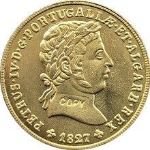 Португалия 1827 копия монет 26,5 мм