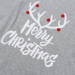 Image 5 - Conjunto de pijamas familiares de Navidad, ropa de Navidad, traje para padres e hijos, ropa de dormir de casa, trajes familiares a juego para bebé, Chico, papá, mamá