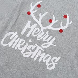 Image 5 - Giáng Sinh Họ Bộ Đồ Ngủ Bộ Giáng Sinh Quần Áo Cha Mẹ Con Phù Hợp Với Đồ Ngủ Mặc Ở Nhà Mới Cho Bé Kid Bố Mẹ Phù Hợp Với Họ Trang Phục