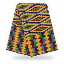 African Fabric wax print High Quality Veritable Wax Print Printing 100% Cotton Real Dutch For Dress