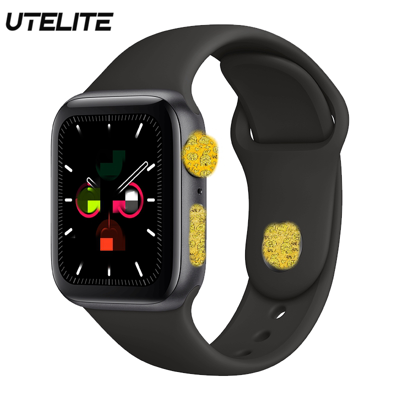 UTELITE <font><b>IWO</b></font> 12 <font><b>Smart</b></font> <font><b>Watch</b></font> ECG Heart Rate Monitor IP68 Waterproof Bluetooth Calling 230 mah Large Battery Siri Fitness <font><b>Watches</b></font> image