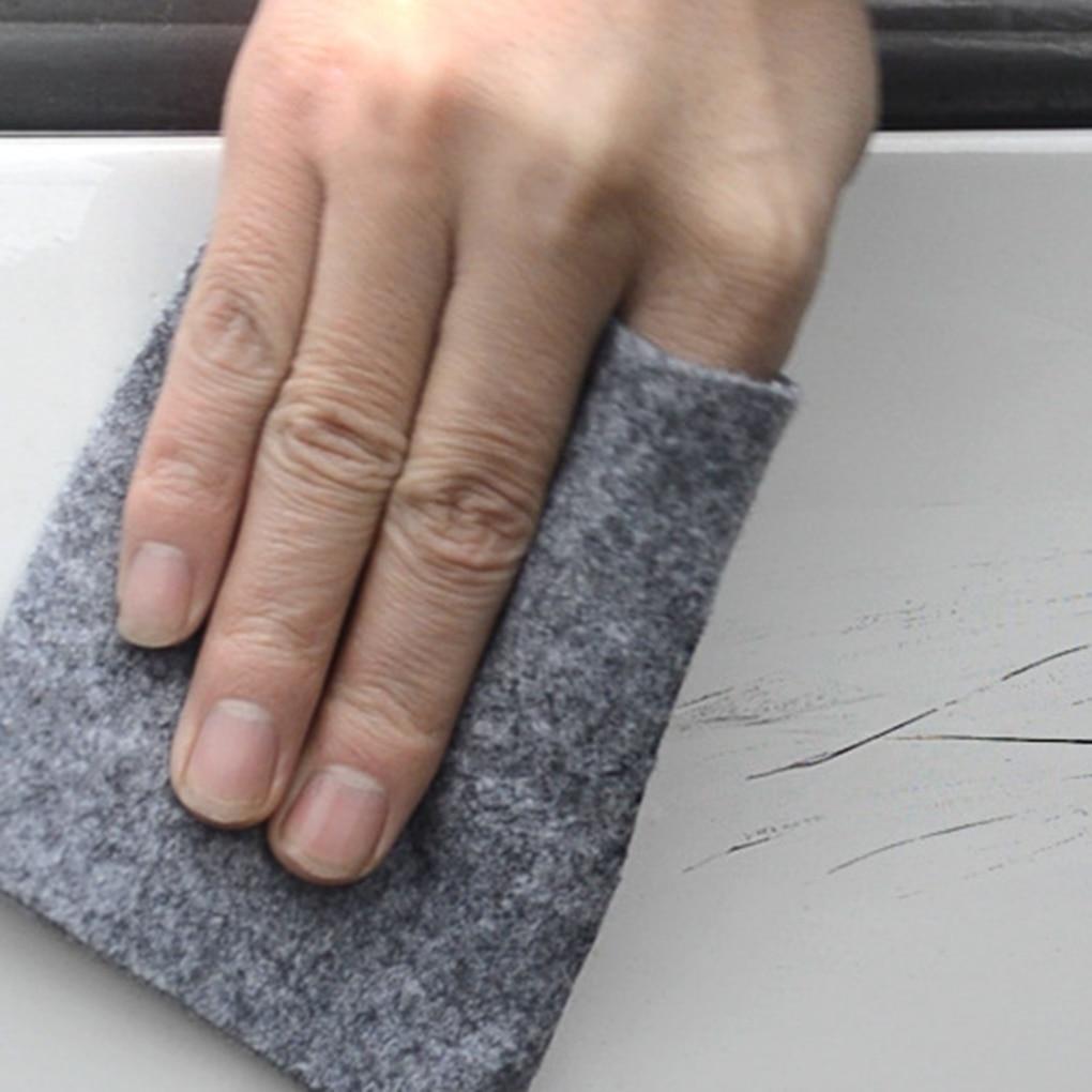 2019 2pcs Car Scratch Remover Cloth Reusable Nano Magic Paint Scratch Polish Repair Cloth For Scratches