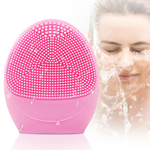 Facial Cleanser Brush Face Cleaning Electric Massage Washing Machine Waterproof Silicone Cleansing Tools