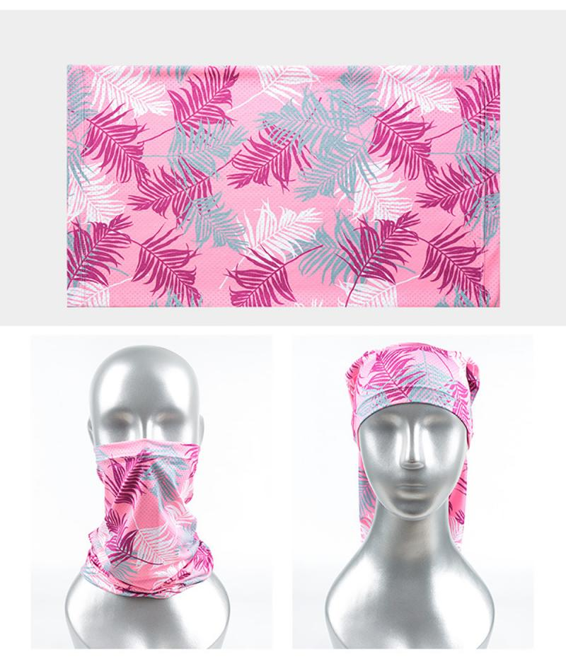 Motorcycle Outdoor Riding Multifunctional Turban Dustproof Ice Silk Sun Protection Cycling Mask Magic Turban Bandana Scarf