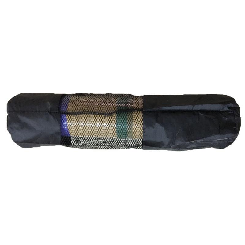 2019 Mochila Yoga Sports Bags Popular Portable Yoga Mat Bag Polyester Nylon Mesh Black Backpack For Health Beautity Sports -7