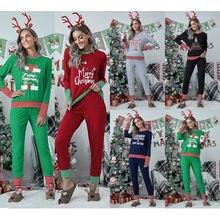 Зима 2020 рождественский стиль большие размеры с длинным рукавом