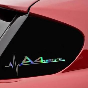 Limitowana edycja samochodu nalepki i dekoracyjne naklejki ścienne dla Audi A3 A4 A5 A6 A7 A8 TT Q3 Q5 Q7 A1 B5 B6 B7 B8 B9 8P 8V 8L C6 C5 C7 4F
