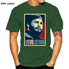 Neue Ankunft Mens T-shirt Fidel Castro Havanna Kuba RevolutionT-Shirt Alle Größen hip hop straße T-shirt