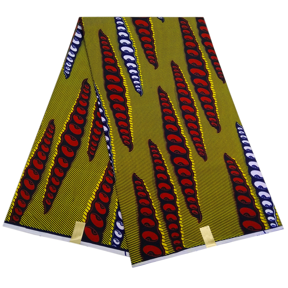 African Wax Fabric Java Wax Ankara Fabric For Dress Guaranteed Quality Pagnes Batik