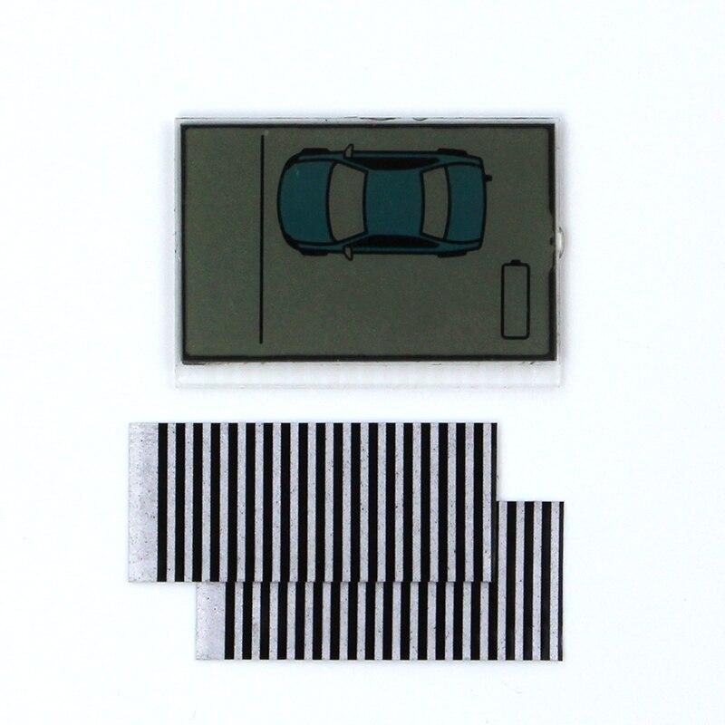 ZX925 дисплей гибкий кабель для шерифа ZX-925 ЖК-пульт дистанционного управления/двухсторонняя Автомобильная сигнализация