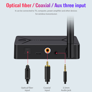Image 3 - Bluetooth 5.0 Audio Transmitter 3.5mm 3.5 AUX Jack RCA USB Coaxial Optical Stereo Wireless Adapter Dongle For TV PC Headphone