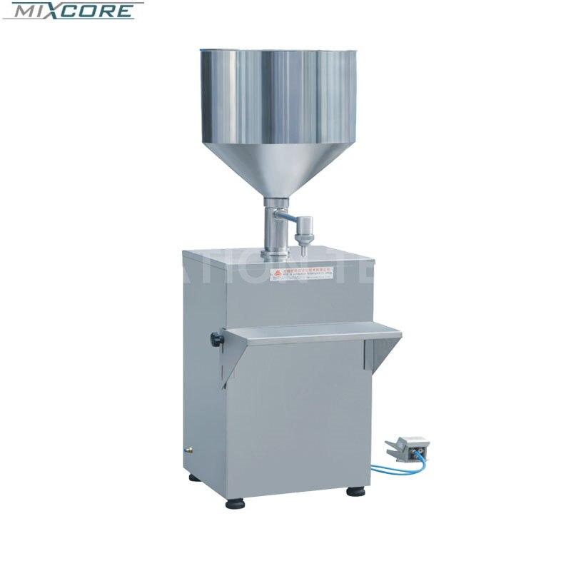 Machine de remplissage électrique ou pneumatique de la CE GS-2 5-1000 ml et Machine de cachetage pour le fromage de transformation des aliments faisant la Machine