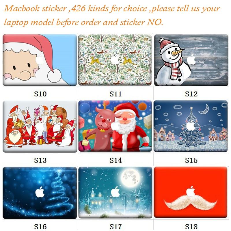 5pcs/Lot Random Sending 426 Kinds Skins New Laptop Sticker For MacBook Air Pro Retina 11 13 15 Sticker Vinyl Partial Decal