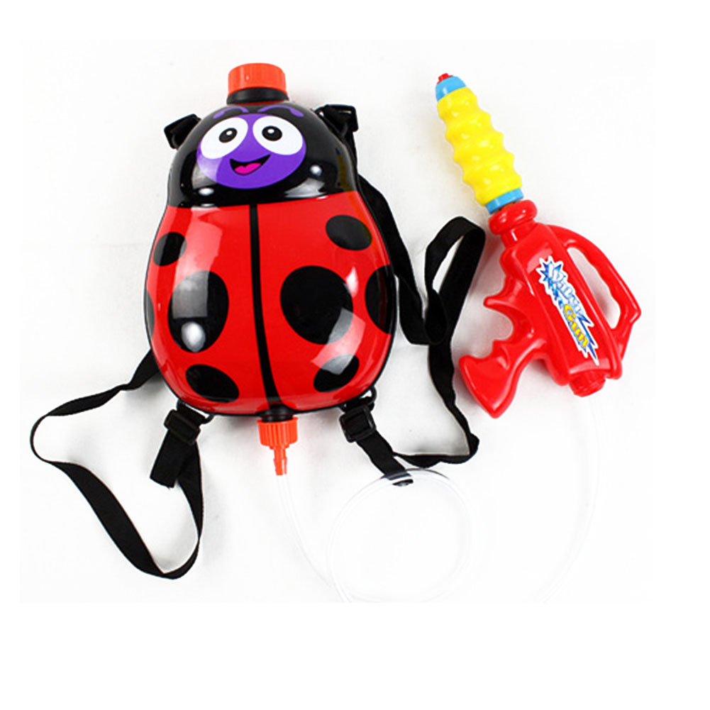 Children Kids Water Spray Blaster Toy Pumping Pull With Backpack For Summer Beach  Hot Sales