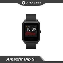 Amazfit — Montre connectée Bip S pour les téléphones Android et iOS, version globale, étanche jusqu'à 5 ATM, GPS/GLONASS, Bluetooth, nouveau modèle