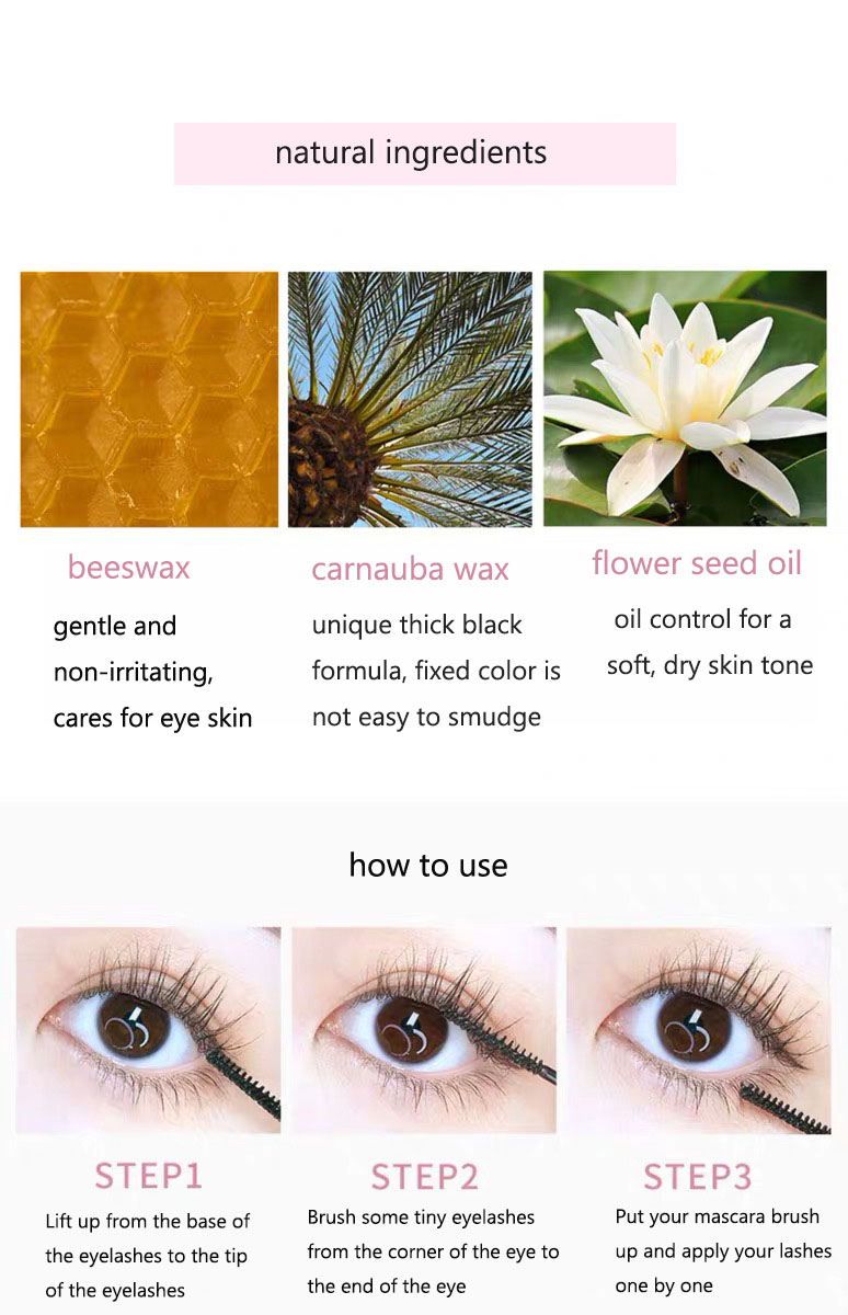 3d Silk Fiber Mascara Natural Ingredients 7