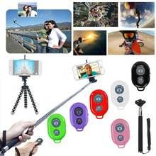 6 Цвета Беспроводной телефон Камера затвором с дистанционным