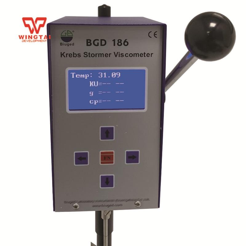 40.2KU~141KU BGD 186 Intelligent Digital Rotational Viscometer Krebs Stormer Viscometer